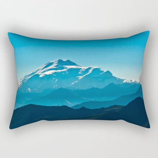 The top of Elbrus Rectangular Pillow