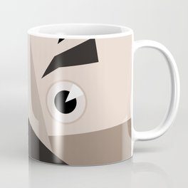 Face abstraction Coffee Mug