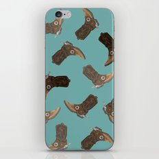 Cowboy Boots - pattern iPhone & iPod Skin