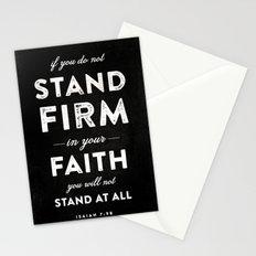Isaiah 7:9b Stationery Cards