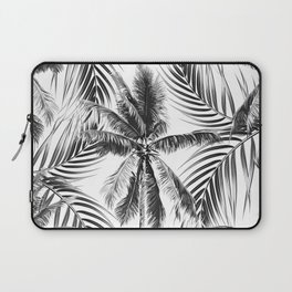 South Pacific palms II - bw Laptop Sleeve