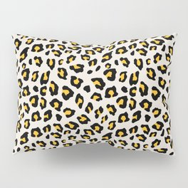 Leopard Print - Mustard Yellow Pillow Sham