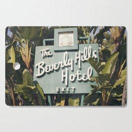 Beverly Hills Hotel Cutting Board