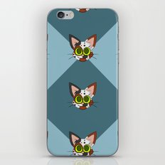 Repeating Calico Pattern iPhone & iPod Skin