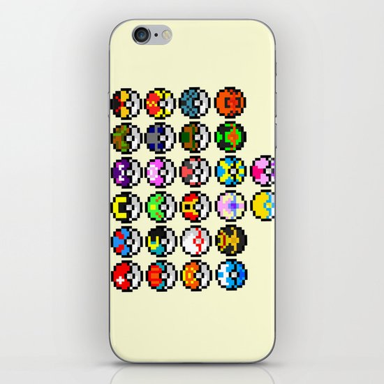 Gotta Catch'Em All iPhone & iPod Skin