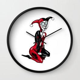 Ms. Harley Quinn Wall Clock