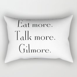 Gilmore Girls A Year in the Life Rectangular Pillow