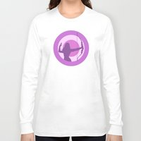 avenger Long Sleeve T-shirts featuring Kate Bishop: Young Avenger by semisweetshadow