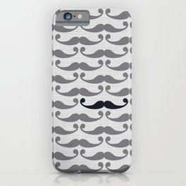 Mustaches iPhone Case