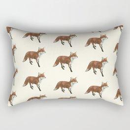 Mr Red Fox Rectangular Pillow
