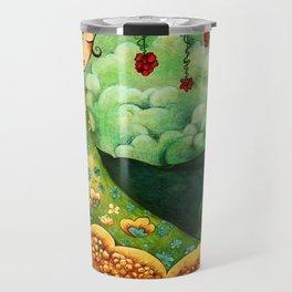 Flower Tree Travel Mug