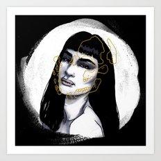 Skull Series #1 Art Print