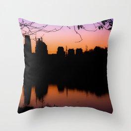 Philadelphia Sunrise Throw Pillow