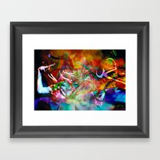 Sending Them Back Framed Art Print