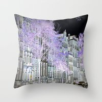 amsterdam Throw Pillows featuring Amsterdam by DuniStudioDesign