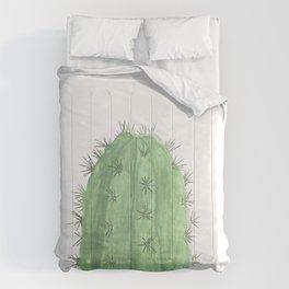 Watercolor Cactus Comforters