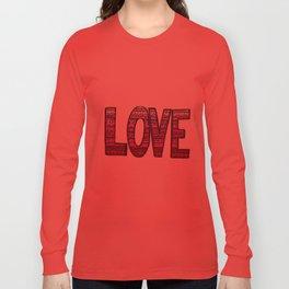 Love Design Long Sleeve T-shirt
