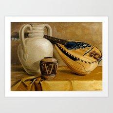 Mandolin At Rest Art Print