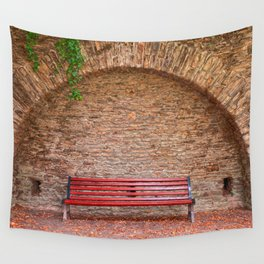 Once Upon a Bench Wall Tapestry