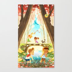 The Crossing - In The Morning Canvas Print