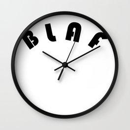 BLAF Wall Clock
