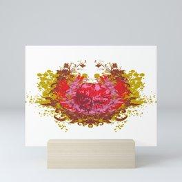 Arrow Stricken Skull Mini Art Print