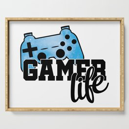 Gamer life Serving Tray