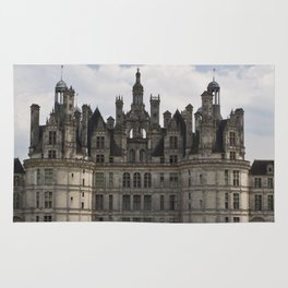 French castle, Chambord, Loire valley Rug