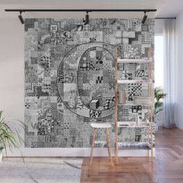 The Letter C Wall Mural
