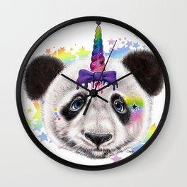 PandiCorn  - Sheena Pike Wall Clock