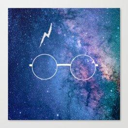 Nebula Lightning Scar HP Canvas Print