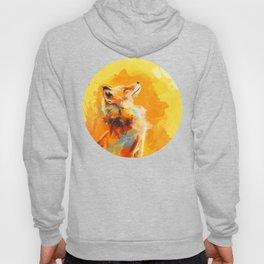 Blissful Light - Fox portrait Hoody