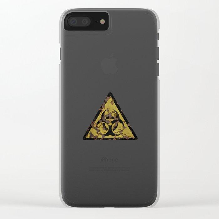 Biohazard Clear iPhone Case