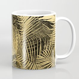 Gold Foliage Coffee Mug