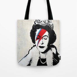 Banksy, Queen Tote Bag