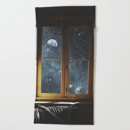 WINDOW TO THE UNIVERSE Beach Towel