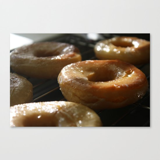 Perfection Glazed Canvas Print