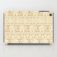 elephants iPad Cases featuring ELEPHANTS by Oksana Smith