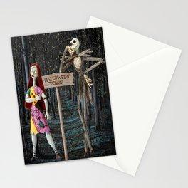 Halloween Town   Jack   Sally   Christmas   Nightmare Stationery Cards
