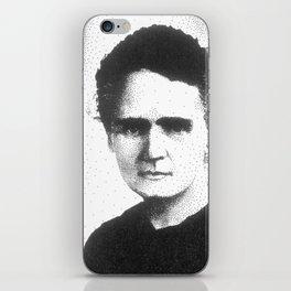 Madame Curie iPhone Skin
