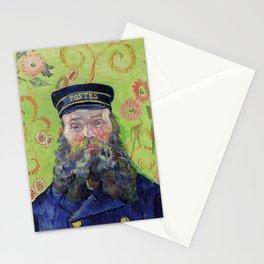 Vincent Van Gogh Postman Portrait Of Joseph Roulin Stationery Cards