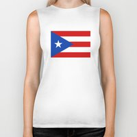 puerto rico Biker Tanks featuring Puerto Rico by McGrathDesigns
