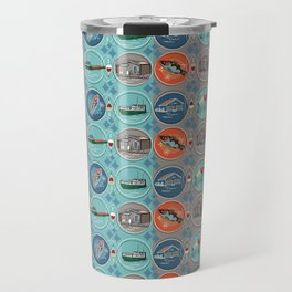 Fish Town Michigan Travel Mug
