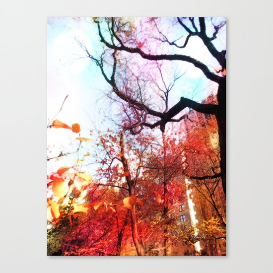 Color Blocked Canvas Print