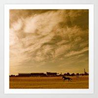 Avondale Race Course Art Print