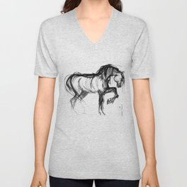 Horse (Saklavi) Unisex V-Neck