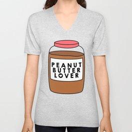 Peanut Butter Lover Unisex V-Neck