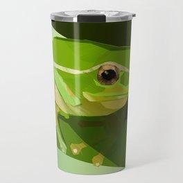 green tree frog Travel Mug