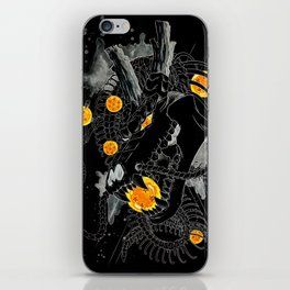 Death Crew Black Edition - Shenron iPhone Skin
