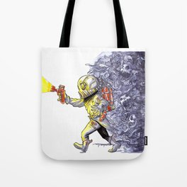 Candy-Trooper, Out of the Dark Tote Bag